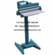 Máy ép miệng bao NILONG, máy hàn miệng túi PE ĐẠP CHÂN model PFS450 / PFS600